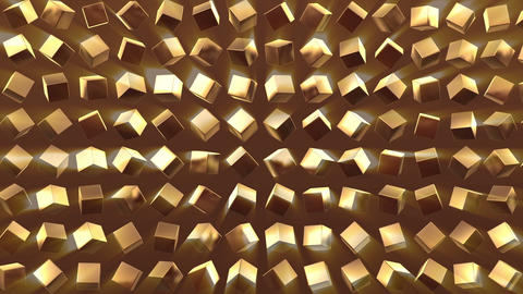 gold Background 03 HD Animation