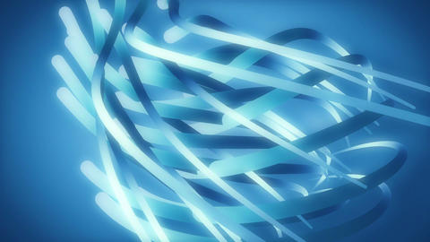 Bluesters - Abstract Organic Video Background Loop Animation