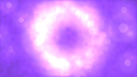 Particle Background Animation - Loop White Purple Animation