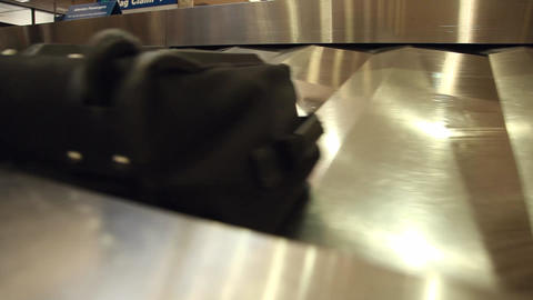 Baggage Carousel Tight stock footage