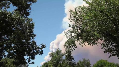 Wildfire Smoke Footage
