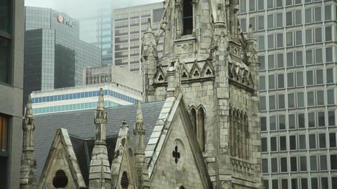 Church Philadelphia slow tilt Footage