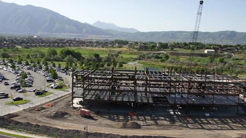 Construction site wide Live Action