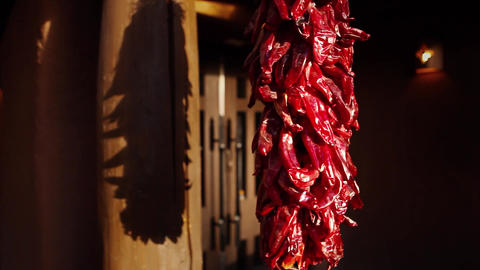 Dried Peppers Footage