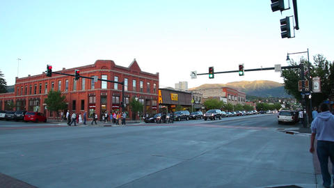 Steamboat Springs street Footage