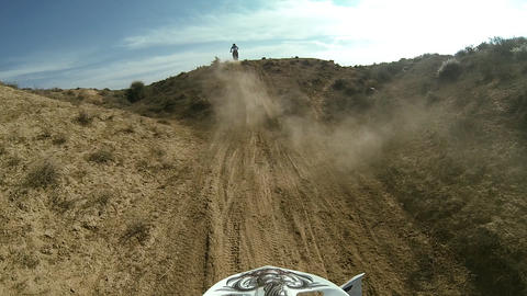Sport Motocross exciting racing exciting tough adv Footage