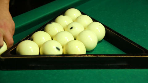 Russian Billiards Footage