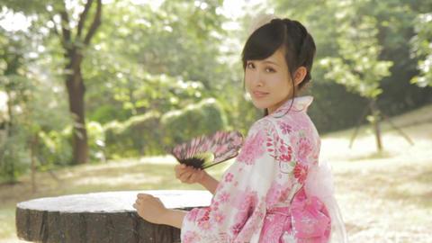Asian Woman In Kimono 0