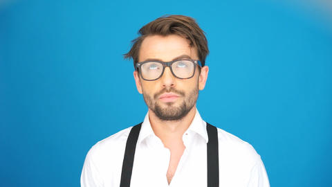 man wearing glasses Live Action