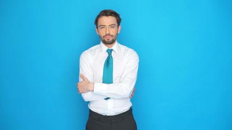handsome businessman Live Action