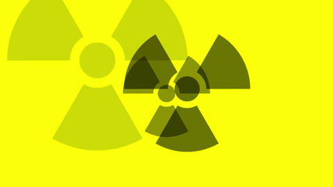 Pulsing Radiation Symbol Animation
