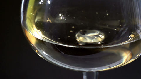 Replenish Sparkling Wine stock footage