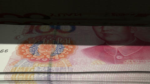 Chinese Yuan Flip Animation