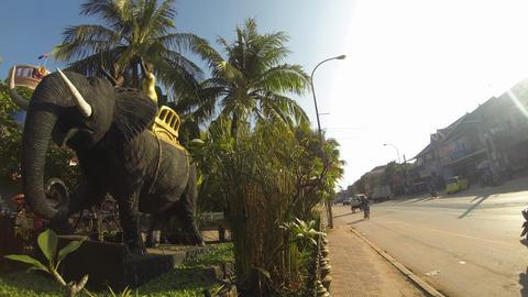 Siem Reap traffic timelapse Footage