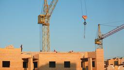 Building construction Footage