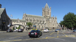 Christ Church Cathedral 1 stock footage