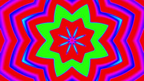 My Trippy Kaleidoscope VJ loop 02 Animation