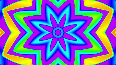 My Trippy Kaleidoscope VJ loop 06 Animation