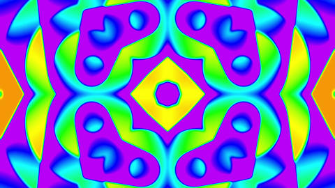 My Trippy Kaleidoscope VJ loop 08 Animation
