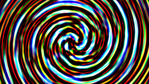 Spiral Pattern Background VJ Loop 3 stock footage