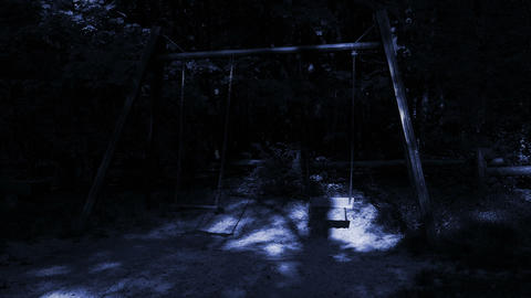 Ghosts on empty swings Footage