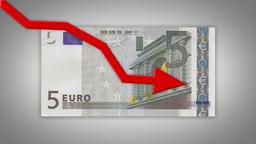 Dropping Euro Value Animation