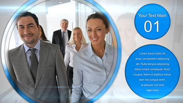 Corporate Circle After Effects Template