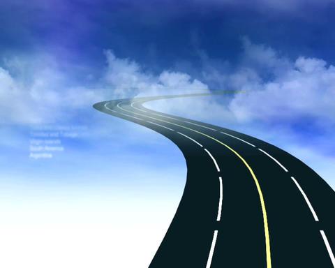 heavens highway Stock Video Footage