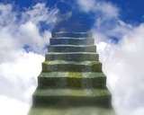 Stairway To Heaven stock footage