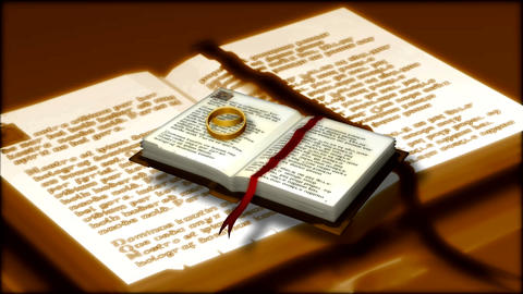 bible ring Stock Video Footage