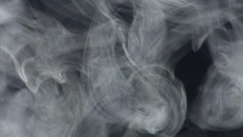 Smoke series: Smoke blue gray 2of2 Stock Video Footage