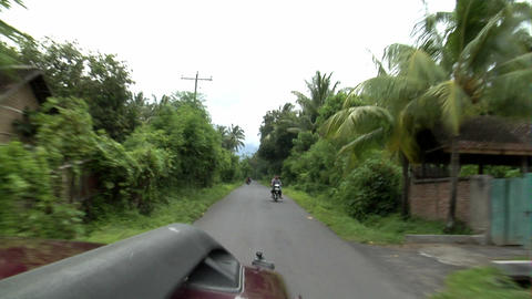 indonesian county drive Footage