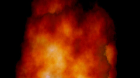 Loopable fire background Stock Video Footage