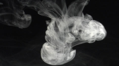Smoke series: spread your Wings Stock Video Footage