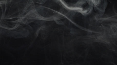 Smoke series: swirl around Stock Video Footage
