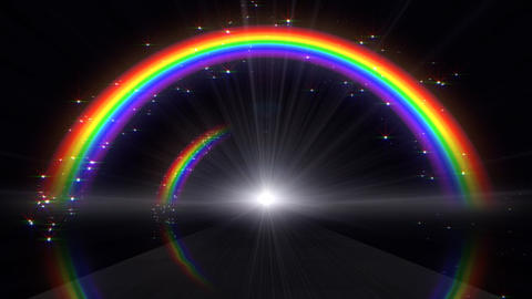 Rainbow A Black Stock Video Footage