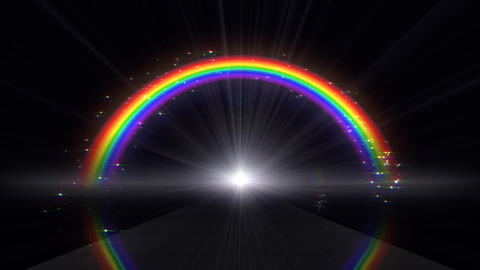 Rainbow A Black Animation