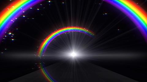 Rainbow A Black Stock Video Footage