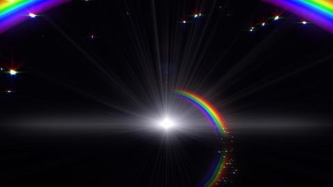 Rainbow B Black CG動画