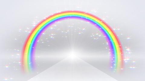Rainbow C White front CG動画