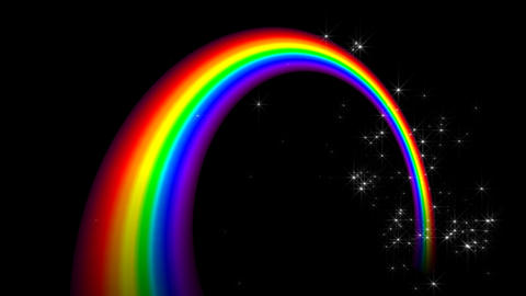 Rainbow CC2 Stock Video Footage