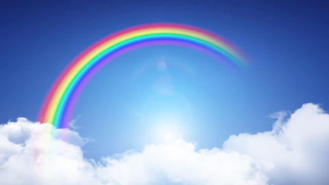 Rainbow Sky B Animation