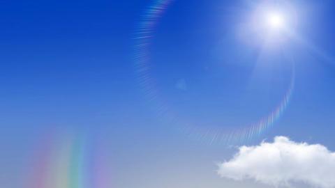 Rainbow Sky C2 Stock Video Footage