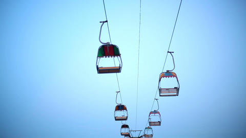 Chairlift Stock Video Footage