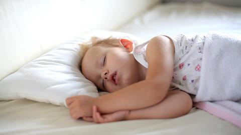 Baby sleeping Stock Video Footage