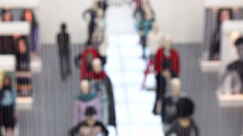 Mannequins Stock Video Footage