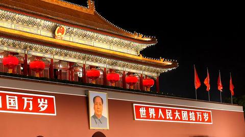Tiananmen Stock Video Footage