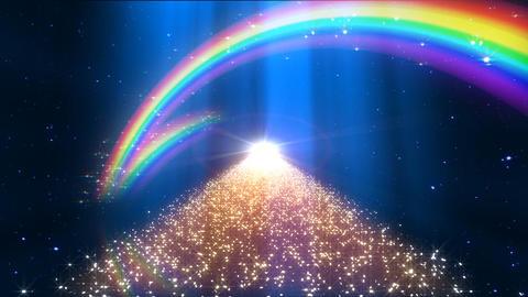 Rainbow D Way B2 Stock Video Footage