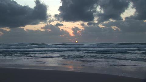 Timelapse Sunrise Stock Video Footage