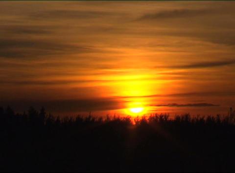 sunset Stock Video Footage